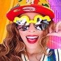 2015 New House of Holland cotton clouds waves Sunglasses fashion glasses Women Glasses Men  Eyewear Oculos Unisex hot sale