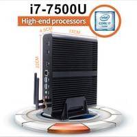 [7TH Gen Intel Core i7 7500u] kabylake Мини-ПК Оконные рамы micro pc Макс 3.5 ГГц HD graphics620 4 К HTPC настольных ПК Linux Коди DDR4 Оперативная память