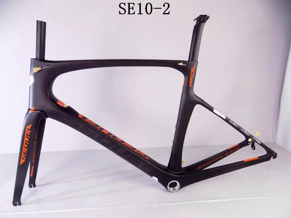 DC010 carbone route Toray T1000 cadre + fourche + tige de selle + pince + casque PF30/BB30 cadre carbone à bas prix vélo de route 2 ans de garantie