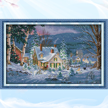 Joy Sunday, Christmas wishes,cross stitch embroidery set,printing cloth embroidery kit,needlework,Christmas style cross stitch joy sunday christmas mouse cross stitch embroidery set printing cloth embroidery kit needlework christmas style cross stitch
