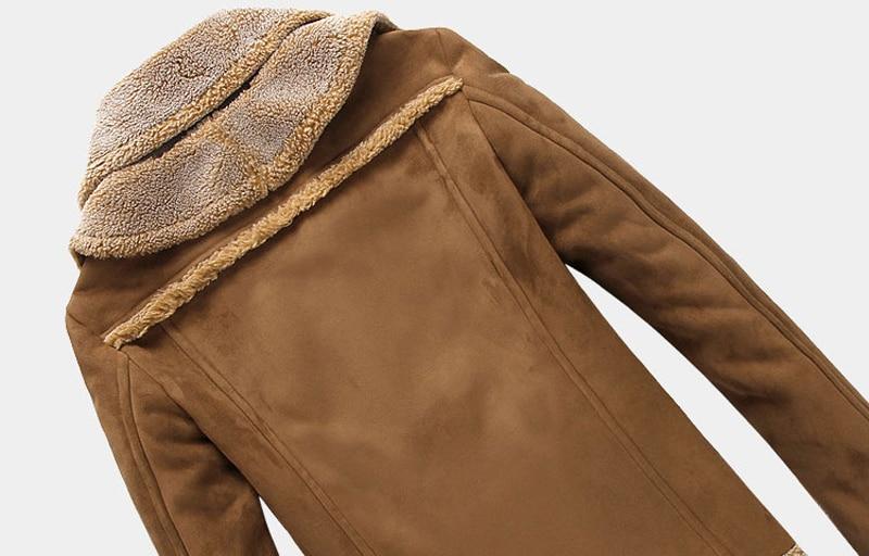 Warme 4XL C352 Einreiher Designer 2017 Mantel Pelz Winter Herren in US96 43OFF Leder Wildleder 12 Herren Jacken Dicke Großhandel Pelz und Mäntel WD2EYH9I