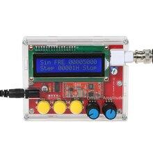 AD9833 Высокоточный генератор Funtion сигналов DIY Kit синус/треугольник/квадратный выход 1~ 10000 Гц части источник сигнала компоненты