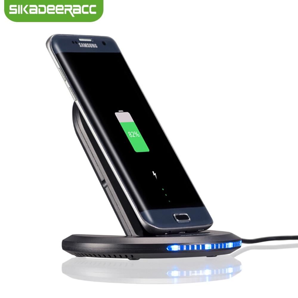 JK81 Station de chargeur sans fil 9 V Qi réglable pour iPhone 8 Plus X 10 Samsung S6 S7 Edge S8 Note 8 Nexus 5 6 support de Dock de chargeur