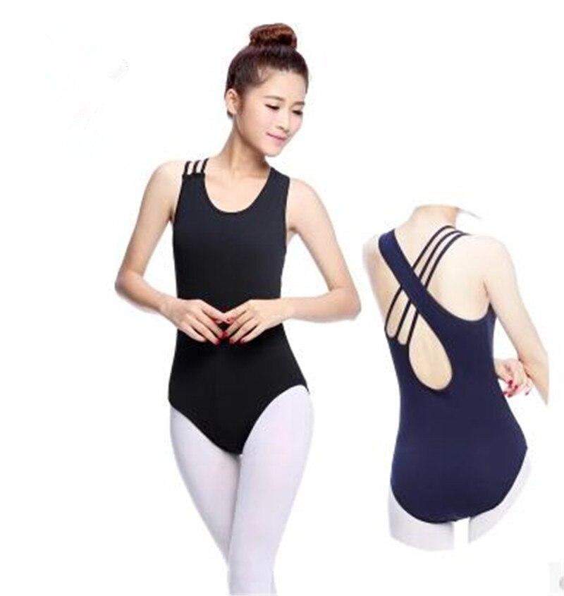 a1f273347 New Gymnastics Leotard Ballet Dance Clothes Adult Asymmetrical Tank ...