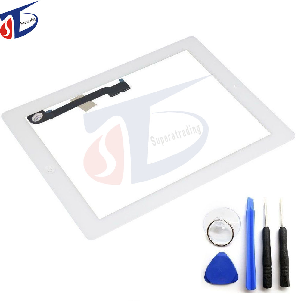 OEM For ipad 3 Touchscreen Touch Screen Digitizer Replacement Part A1416 A1460 A1403 Tablet touch panel & Tools&home button kifit convenient handheld ice cooling roller facial skin care beauty face body massage home used health tool
