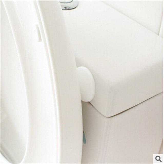 50 X Car Sticker Silicone Wall Protectors Self Adhesive Door Handle Per Guard Stopper Rubber Stop
