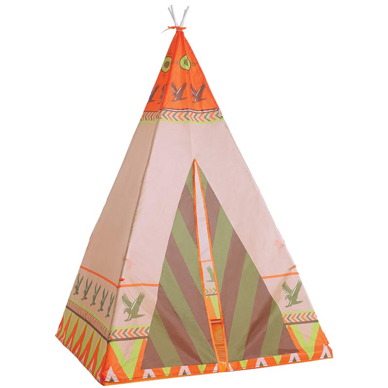 Baby Playpen Tent With Polyester Ultralight Color Printing Tent for Boy Girls Kids Safe Baby Tent Indian Children Tipi Tent