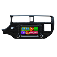 8 Car DVD Player Auto Radio Stereo GPS Navigation for KIA RIO K3 Pride 2012 2013 2014 Support Front DVR TPMS 3G Mirror Link BT
