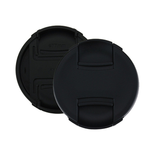 Image 3 - 10 Stks/partij Hoge Kwaliteit 49 52 55 58 62 67 72 77 82Mm Center Pinch Snap On cap Cover Voor Canon Camera Lens