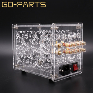 Image 2 - Transparent Acrylic Chassis Enclosure For FU32 Vacuum Tube Amplifier Preamplifier Case Box Vintage Hifi Audio DIY 1 Set