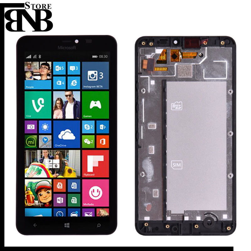 Original For Microsoft Nokia Lumia 640xl 640 xl LCD Display Touch Screen Digitizer Assembly with frame for lumia 640 LCD screenOriginal For Microsoft Nokia Lumia 640xl 640 xl LCD Display Touch Screen Digitizer Assembly with frame for lumia 640 LCD screen