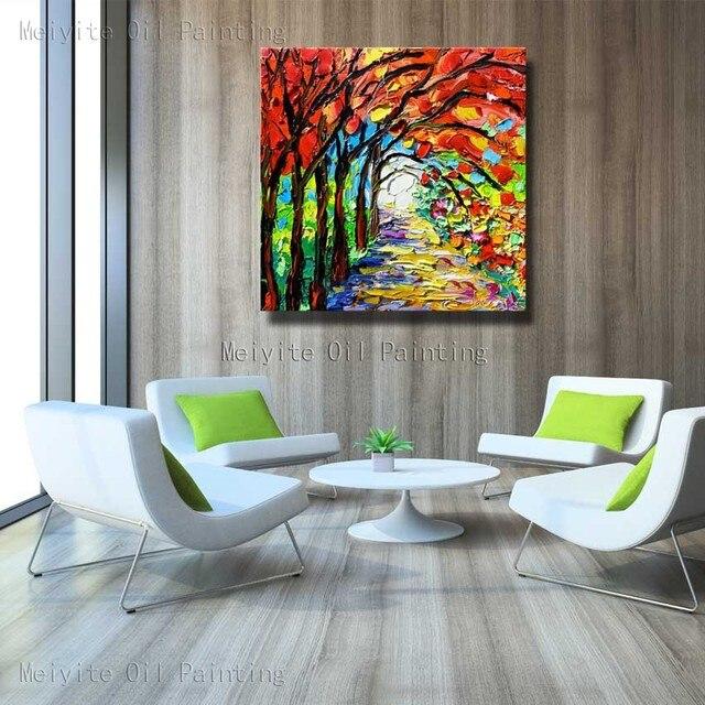 Online Shop Kleurrijke Natuur Plant Groene Muur Picture Grote Canvas ...