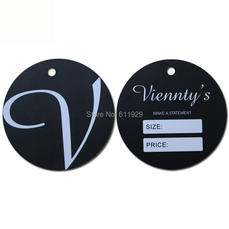 customized 400 gsm shape cut cardboard hang tag/clothing shaped paper swing tags/labels/garment bag printed tags/round oval tags