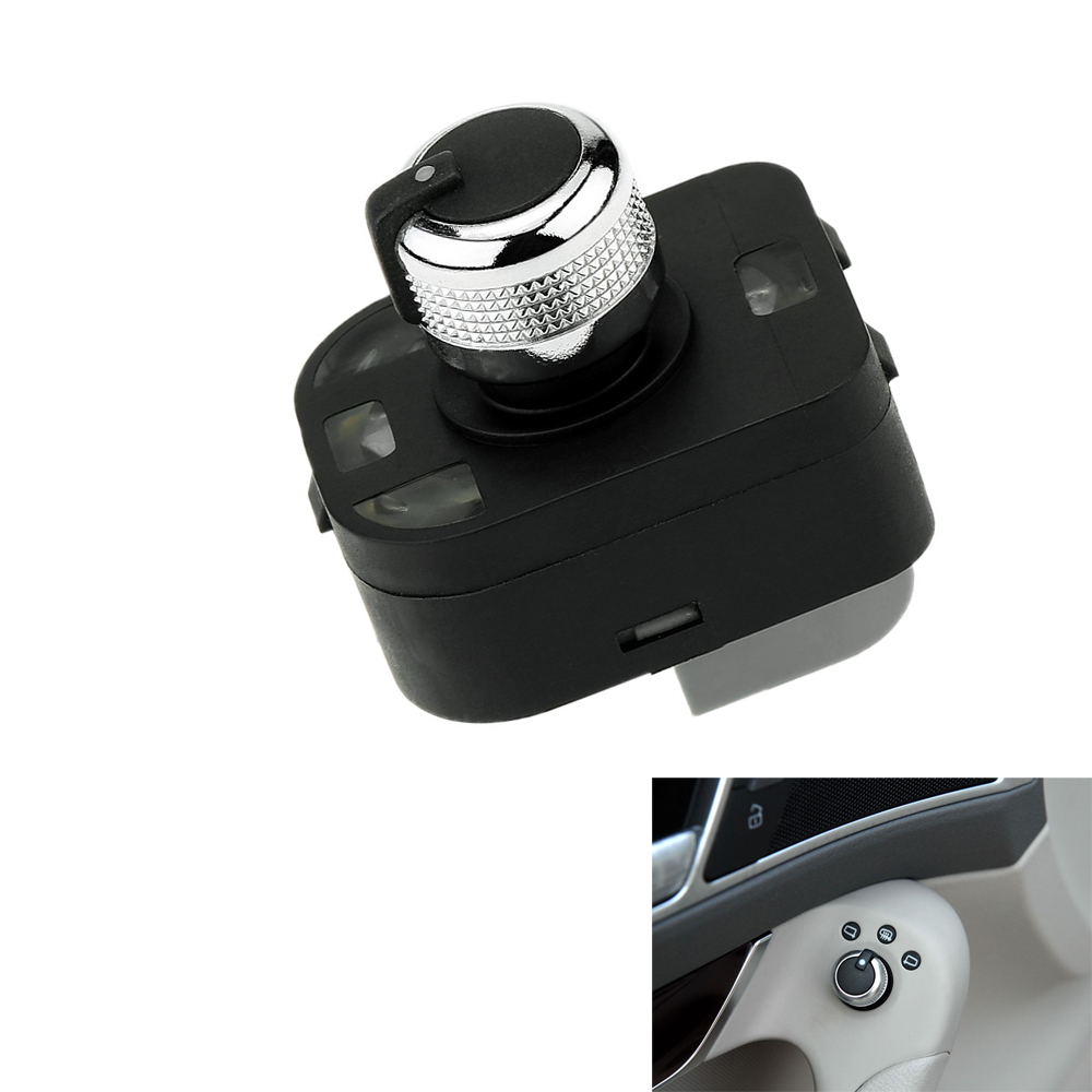 For <font><b>Audi</b></font> A4 <font><b>2002</b></font> For <font><b>Audi</b></font> <font><b>A6</b></font> A8 Q7 R8 Car Rear View Mirror Switches Control Adjust Knob 4F0959565 4F0 959 565B image