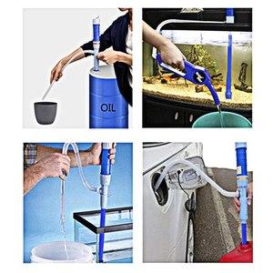 Image 2 - Auto Olie Extractor Elektrische Pompen Pijp Olie Sucker Pomp droge Batterij Handleiding Water Veranderen Olieman Zelf rijden Outdoor Tool onderdelen