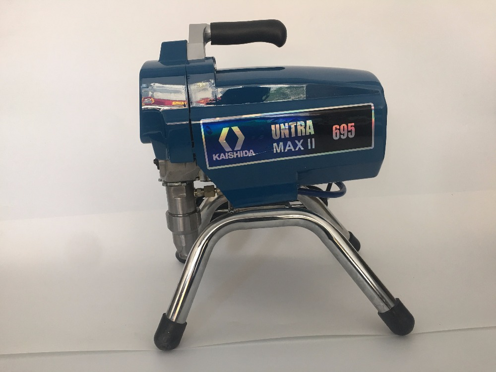 Profesional Electric Airless Paint Sprayer 2800W  3.5Min/L PISTON Painting Machine 695 with brushless motor factory selling