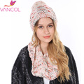 2015 Wholesale Cheap Women's Hat Girl Knitted Wool Neck Ring Circle Scarves Infinity Winter Hat and Scarf Set for Women