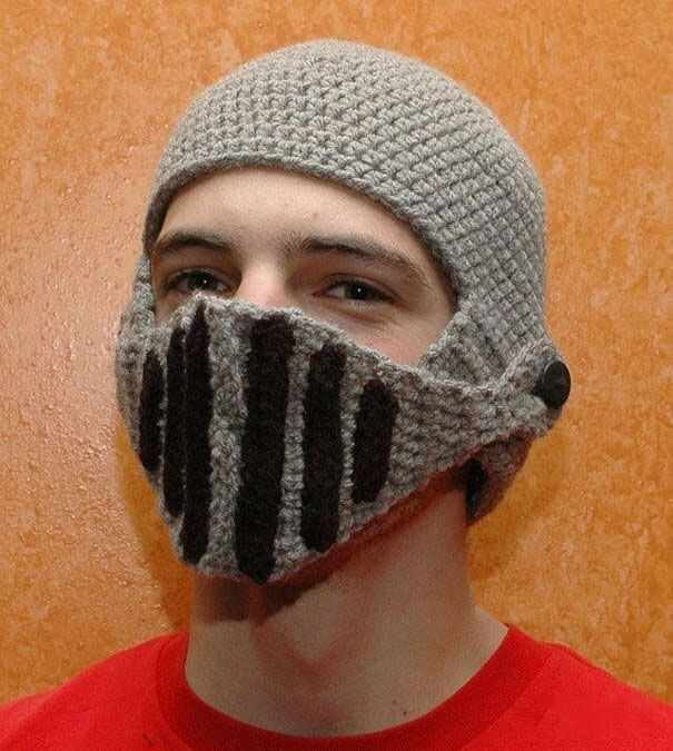 6f36f88c53b New Design Handmade Knitted Men Winter Crochet Hat Bicycle Mask Ski Warm Cap  Funny Hat Roman