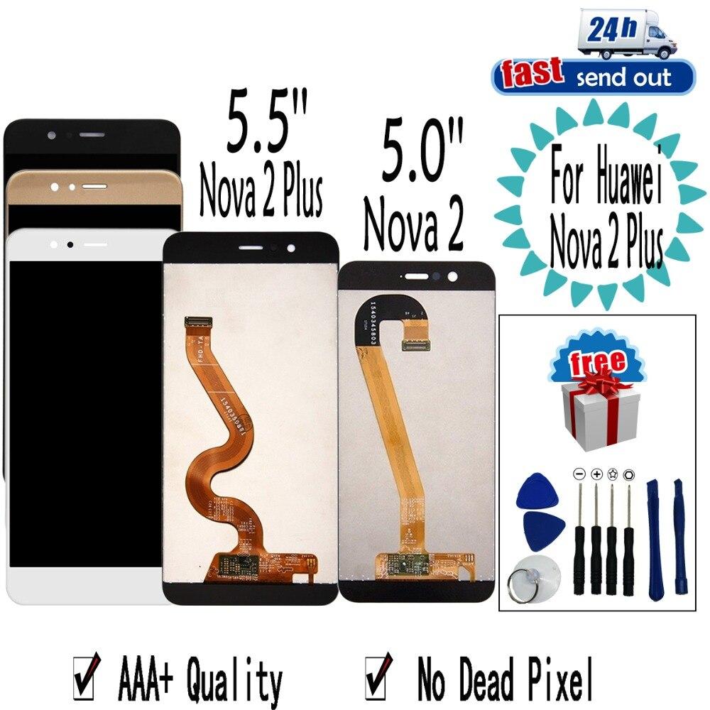 5.5 LCD Pour Huawei Nova 2 Plus LCD Affichage Nova2 Plus BAC-L23 L21 L01 Écran Tactile Digitizer Assemblée Remplacement