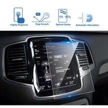 180*135mm автомобиля gps навигации закаленное Стекло наклейка с защитой экрана для Volvo XC90 S90 2015-2017 Экран защитная пленка
