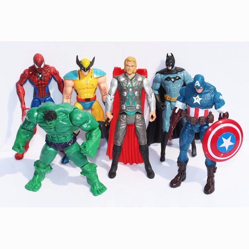 6х Marvel халк + капитан +