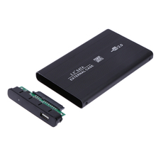 For Win10 2 5 font b USB b font 2 0 SATA HDD External Enclosure Case