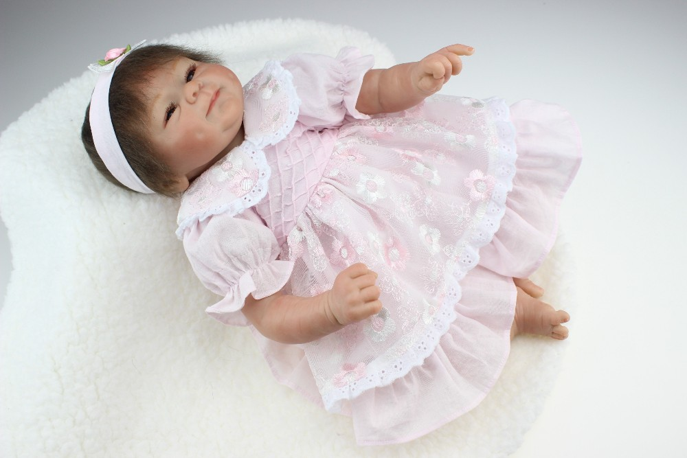 NPKCOLLECTION lifelike reborn baby doll wholesale soft real touch baby dolls Christmas gift Free shipping NEW hot sale