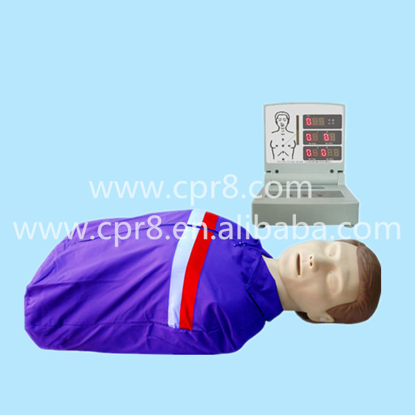BIX/CPR230 Halfbody Electronic CPR Manikin, Electronic Adult Half Body CPR Manikin Model bix 100a half body electronic cpr training manikin electronic adult half body cpr manikin model wbw324