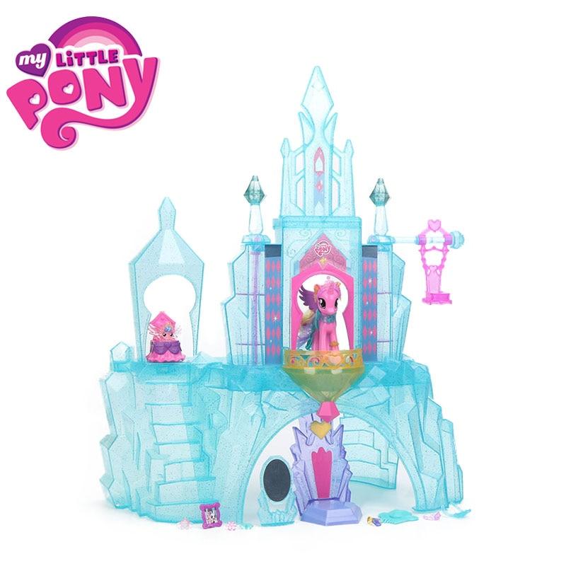 Mon Petit Poney Jouets Pour Fille Cristal Château Maison L'amitié est Magique Princesse Cadence Bébé Tourbillon Coeur collection Modèle Poupées