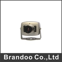 Micro Car camera, audio+IR night vision, no parking line, front view, CMOS car camera for taxi used