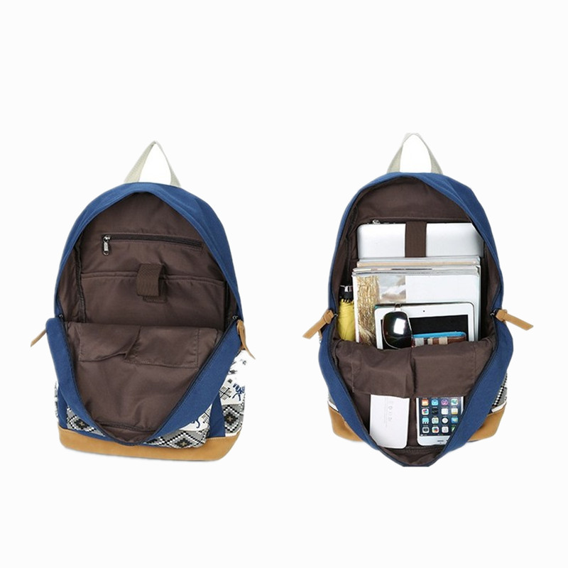 M038 Women Backpack For School Agers S Vintage Stylish Bag Las Canvas Female Back Pack High Quality In Backpacks From Luggage