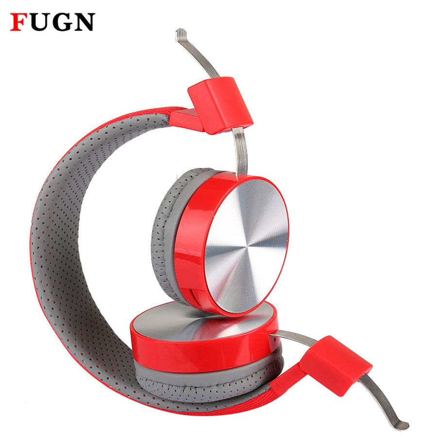 FUGN 3D Stereo Earphone Bass Sound Gaming Headset Gamer Headphone Casque Wireless Sport Earbud with Mic Micro SD/TF for Phone