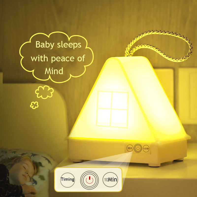 Children's Night Light Automatic Switch Remote ControTiming Dimming Baby Sleep Table Lamp Charging Eye Protection 3D Moon Light