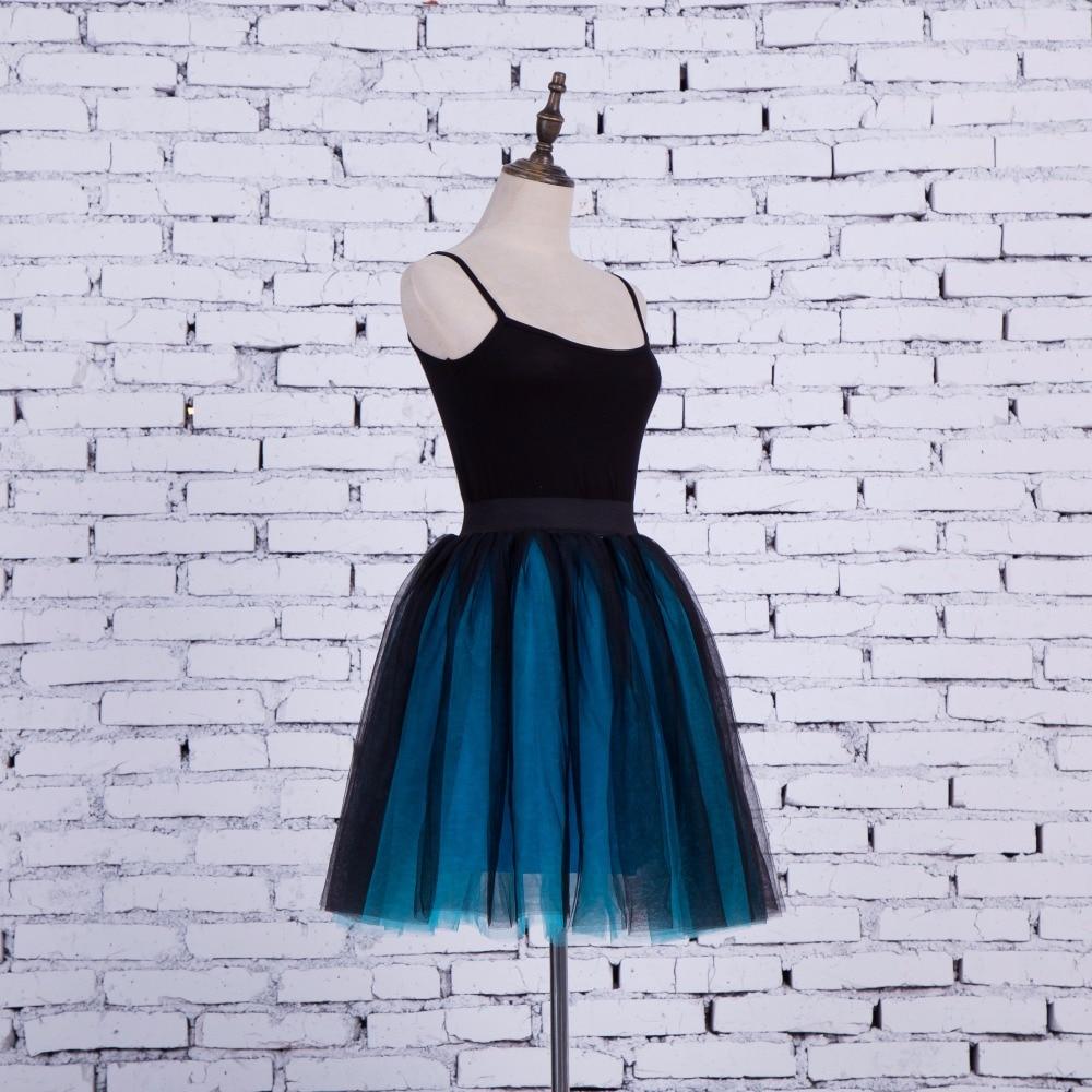 FOLOBE Vintage Style 5 sluoksniai Stock 12 Spalvos Dancewear Ball - Moteriški drabužiai - Nuotrauka 2