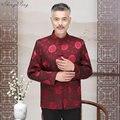 Китайская культура традиции мужчины cheongsam в восточном стиле Одежда традиционная китайская рубашка одежды стиля Востока для мужчин Q601