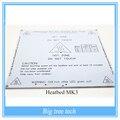 Branco mk3 alu-cama calor impressora 3d cama calor pcb dual power para acessórios da impressora 3d reprap mk3