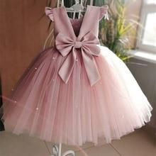 Элегантные Платья с цветочным узором для девочек; Сатиновые платья без рукавов для первого причастия для маленьких детей; праздничное платье для торжеств