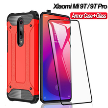 360 Full Protective Armor Case For Xiaomi Mi 9T Pro Hard Rugged Back Cover Shockproof