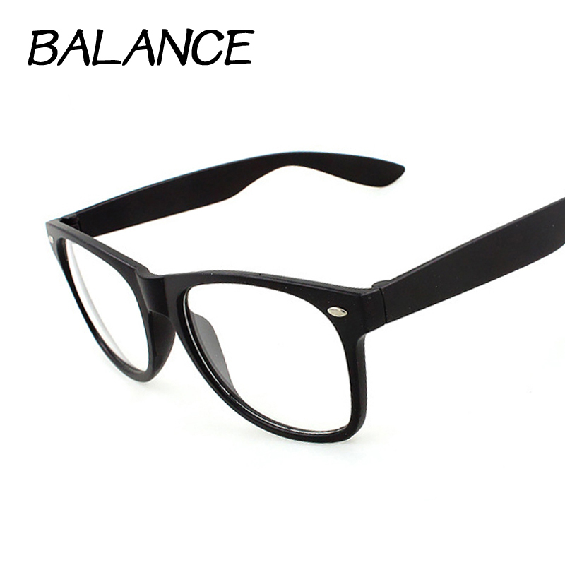 2015 Fashion Computer optical frames Vintage M Nail Eye Glasses Frame For Women Clear Lens unisex brand design Eyewear glasses