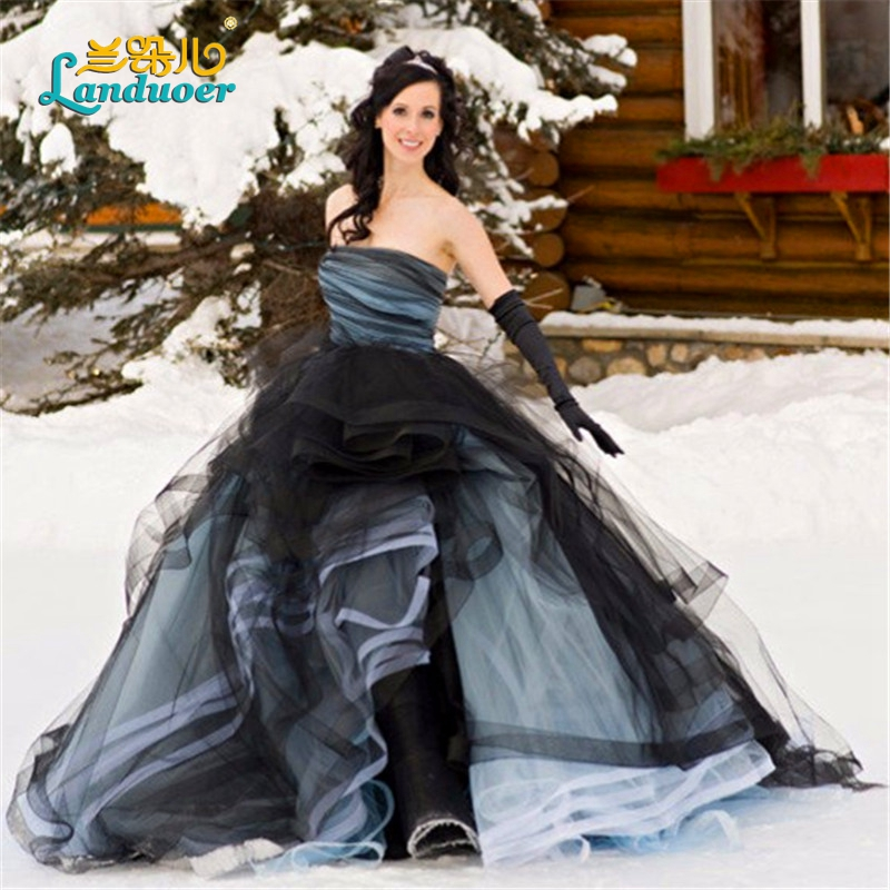 Online Buy Wholesale Gothic Wedding Dresses From China