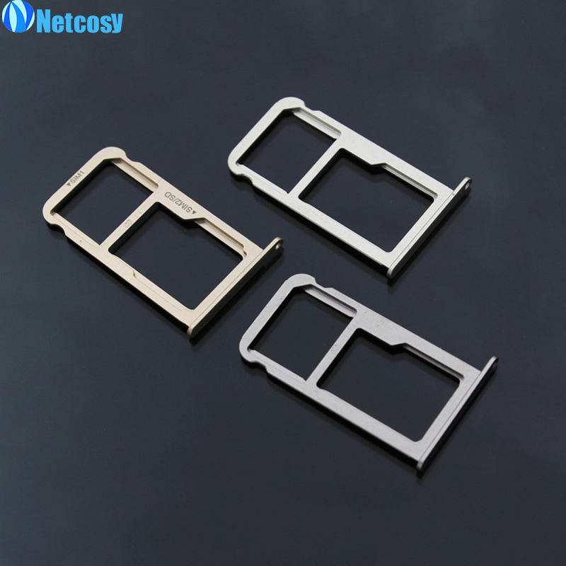 Netcosy For Huawei P9 P9 lite New SIM Card Tray Holder With Micro SD Card Tray Slot Holder replacement Part For Huawei Ascend P9