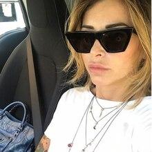 Fashion Cat Eye Sunglasses Women Luxury Brand Designer Retro Big Frame  Sun Glasses Female Glasses for Women Gafas de sol UV400