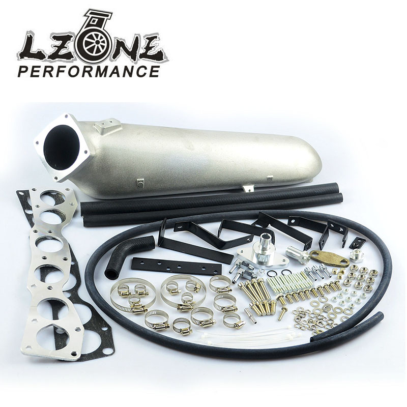 LZONE - CAST ALUMINIUM INTAKE MANIFOLD for 93-98 Supra 2JZGTE FOR Toyota 2JZ Intake Manifold high quality New Brand JR-IM33SL lzone racing new intake manifold for mazda 3 mzr for ford focus duratec 2 0 2 3 engine cast aluminum intake manifold jr im49sl