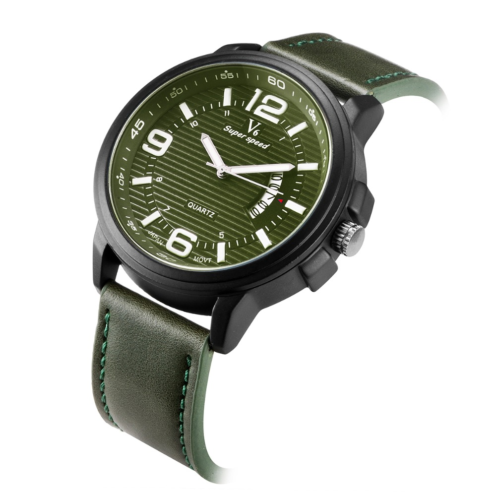 V6 super speed watch Top Brand Luxury Men Swimming Outdoor Sports Watches Military Relogio Masculino Clock