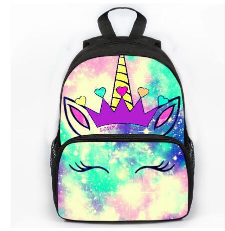 New Unicorn Backpack For Girls Boys Bag Cartable Enfant Children School Bags Kawaii Mochila Toddlers Cartoon Kindergarten Bag