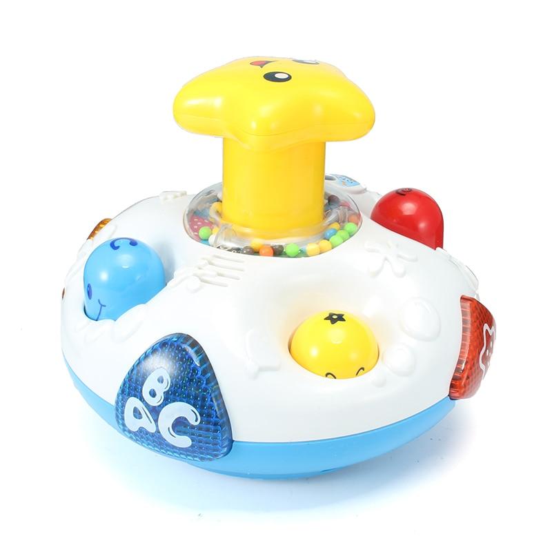 Bébé jouets enfants électrique tourner autour jouet Musical avec son et lumière début jouet éducatif bébé en bas âge jouet de développement