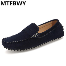 2016 new fashion Men's Loafers Moccasines Hombre Male Genuine Leather Loafers chaussure homme quality Driving Shoes Man