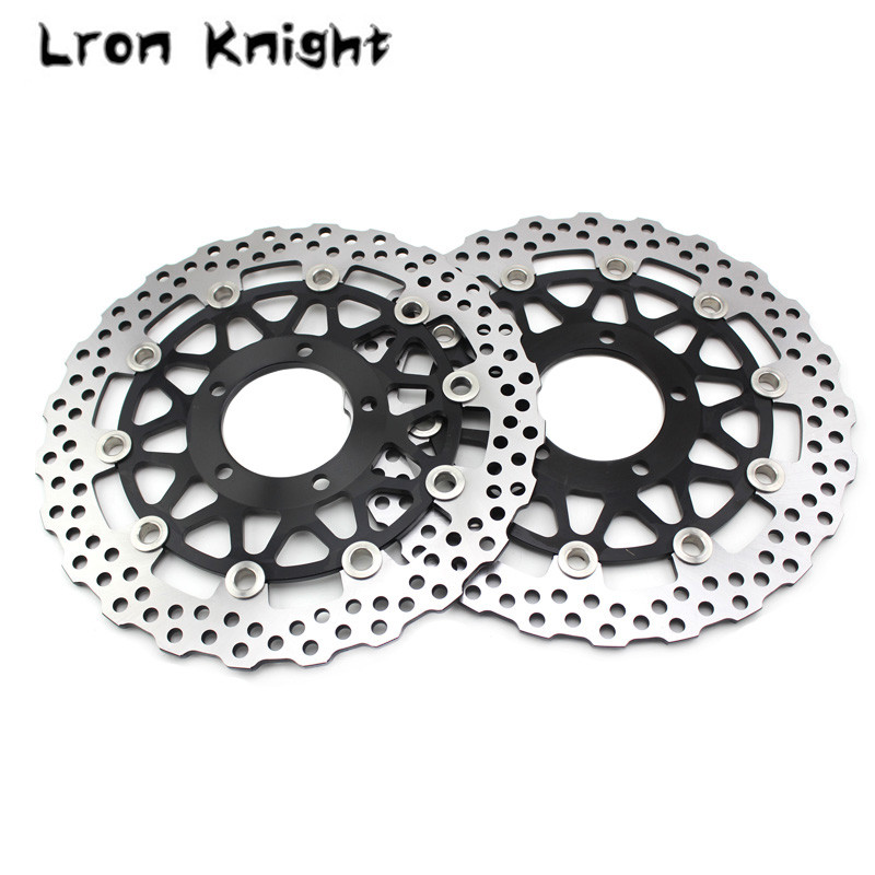 For KAWASAKI ZX-14R ZX14R ZX 14R ZZR1400 ZZR GTR 1400 GTR1400 Motorcycle Accessories Front Brake Disc Brake Rotors цена