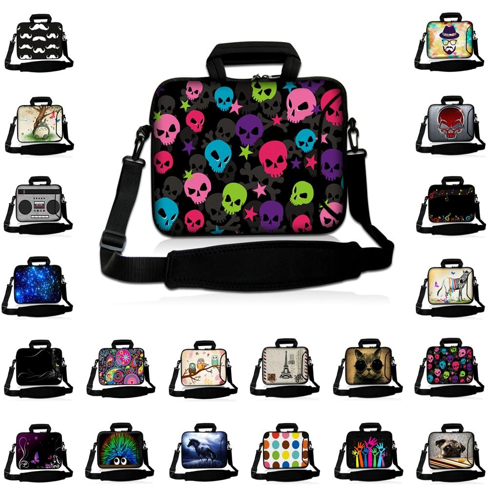 Viviration 13 Inch Laptop Messenger Carry Bag Women Mens 10 12 13.3 14 14.1 15 15.4 17 17.3 Notebook PC Shoulder Strap Briefcase