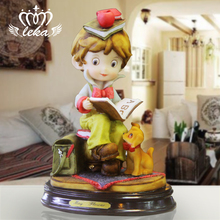 Hand engraving Artwork Home Furnishing ornaments decorations creative TV cabinet study childrens Birthday Ceremony item